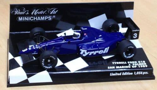 MINICHAMPS 400 890003 - Tyrrell Ford 018 1989 Jonathan Palmer
